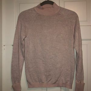Pink sparkly lululemon sweater